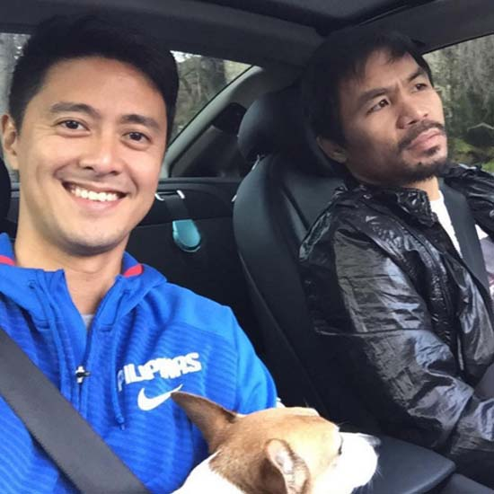 Mark Zambrano tries to change Manny Pacquiao's mind ...