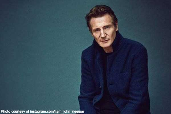 Liam Neeson Hollywood The Late Late Show witch hunt